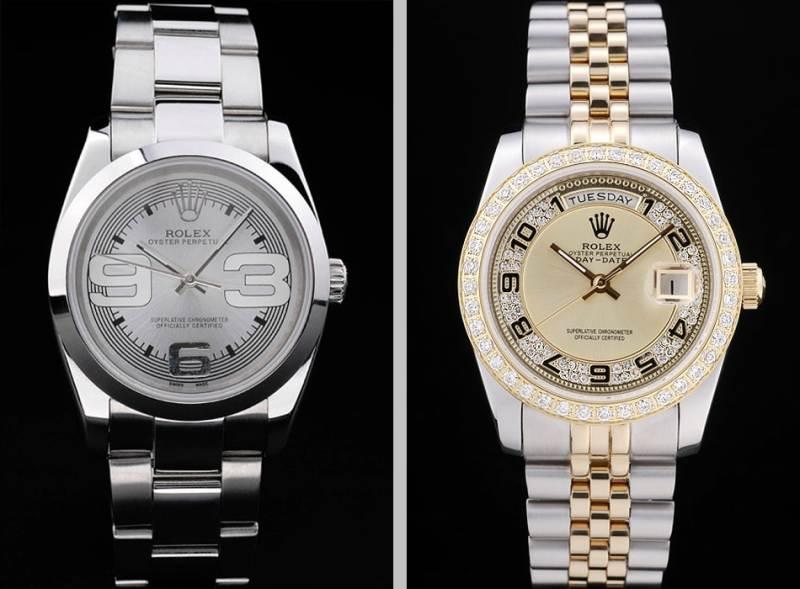 Vad är den största skillnaden mellan Rolex replikur och Omega-replika?